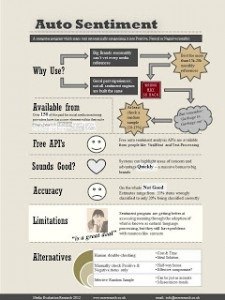 Auto Sentiment Analysis Infographic